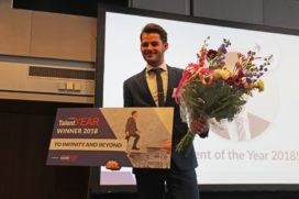 Jorn Heikens op Future Hotello verkozen tot Talent of the Year
