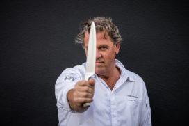 Fred Mustert ** over koken aan de top: 'talent versus wilskracht'