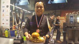 Aziatische burger is de lekkerste hamburger fastest