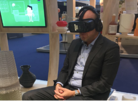 VR trekt aandacht op Bunzl-stand