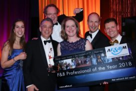 Ruth Engels van INK Hotel is F&B Professional of the Year 2018