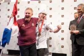 Boulanger Peter Bienefelt wereldkampioen mede dankzij sterrenchef Jacob Jan Boerma