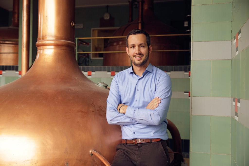 Bierbrouwerij Dommelsch, interview met AB InBev horecadirecteur Pieter Anciaux en brandmanager Sjors van Drie.