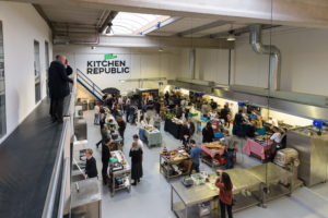 Kitchen Republic start programma voor beginnende cateraars