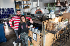 Edge in Woerden: Van stratenmaker naar pizzakampioen