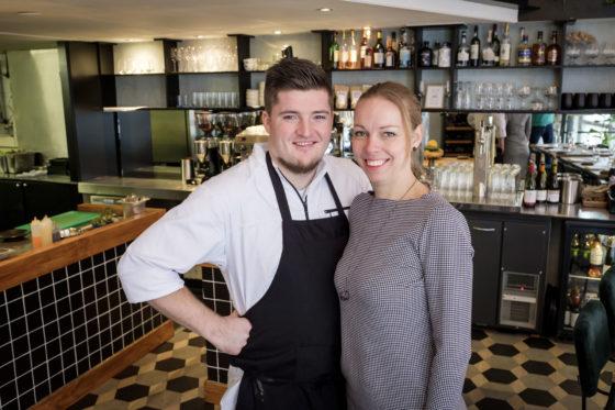 (C) Roel Dijkstra / Joep van der Pal   6&24 restaurant Den Haag  Eigenaren Saskia de Kuijer en Rik van de Laar