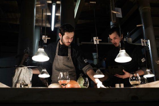 Pop-uprestaurant Anderhalf is een concept van De Spijsbereiders.