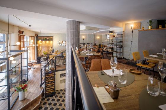 (C) Roel Dijkstra / Joep van der Pal6&24 restaurantDen Haag Eigenaren Saskia de Kuijer en Rik van de Laar