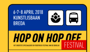 Hop on Hop off Bier- en Foodfestival Breda