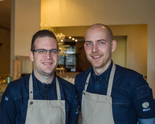 Marc Everse (Kale) en Niek Traas (de Bril)