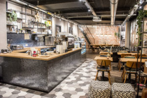 Horecainterieur: Coffee Lounge in Weert