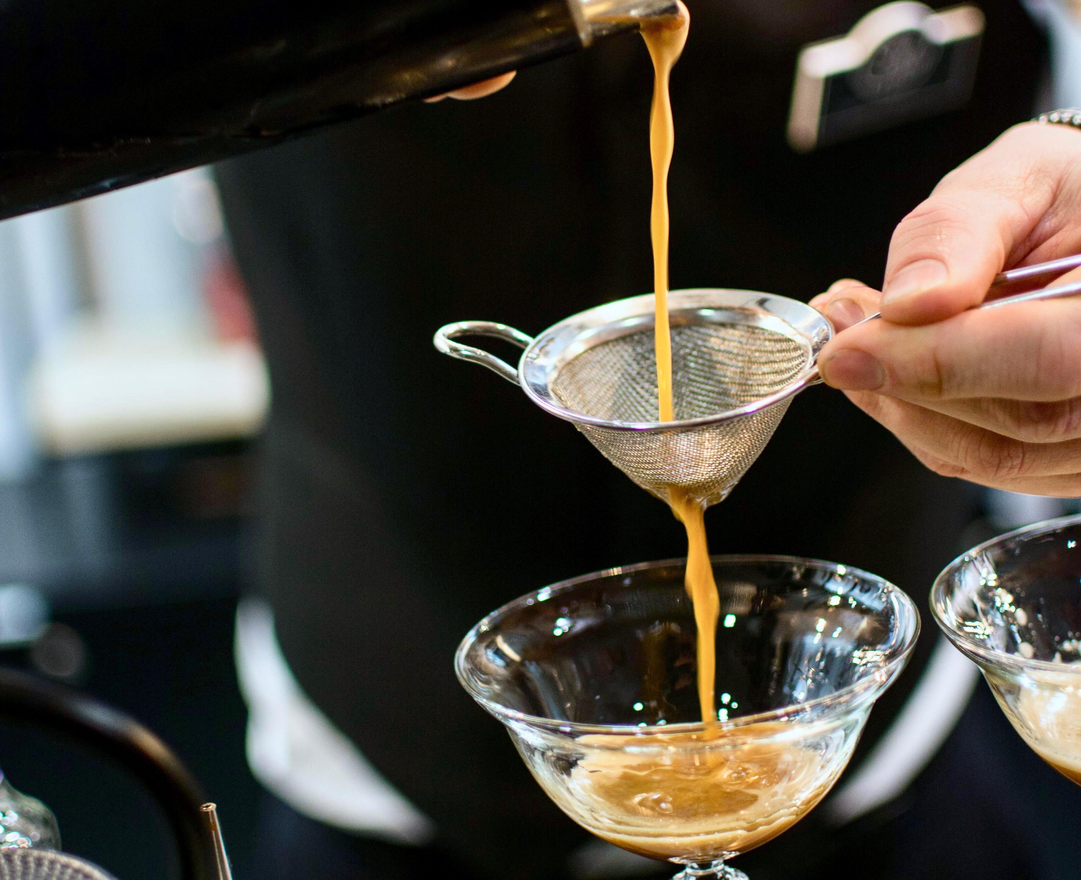 Recept van een Espresso Martini