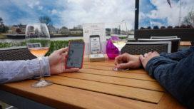 Bestellen via smartphone bij Fuiks eten en drinken