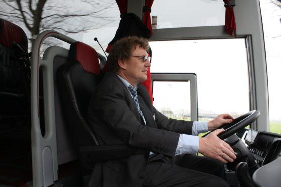 Bus chauffeur Wim.