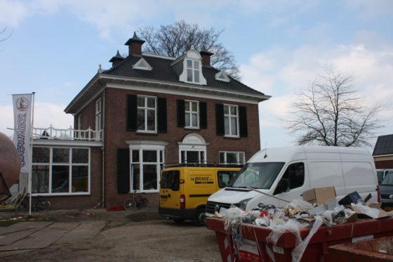In de voormalige directie-villa van Grolsch verrijst een horeca-gelegenheid.