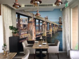 Vernieuwd: sterrestaurant Katseveer van Rutger en Jessica van der Weel