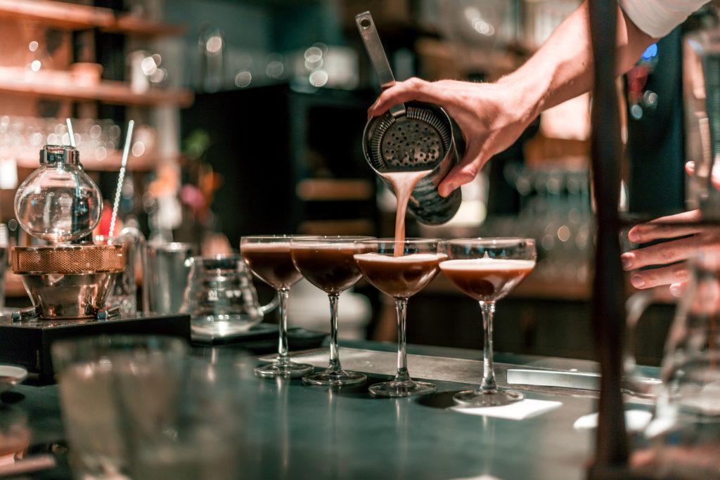 cocktail met koffie