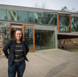 Locatiemanager Pamela van der Veer heeft 'mooiste werkplek van Nederland'