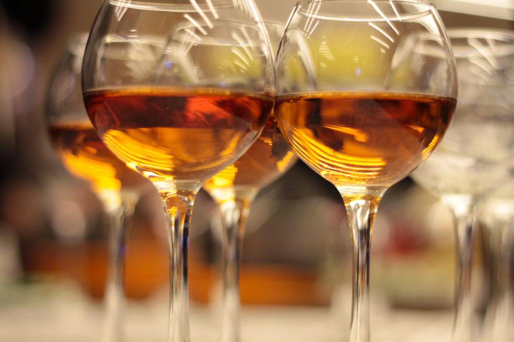 orange wijn