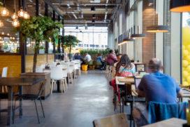 Foto's: Jumbo en La Place smelten samen in Utrecht: 240 zitplaatsen