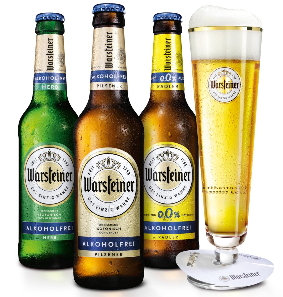 Zomerdrankjes: Warsteiner Alkoholfrei