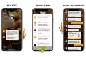 Bierbrouwers lanceren Bier Butler App