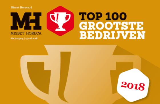 Ranglijst Horeca Top 100 2018: de grootste horecabedrijven van Nederland