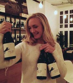 Lotte Wolf introduceert drie eigen wijnen onder de naam A Touch of Dutch