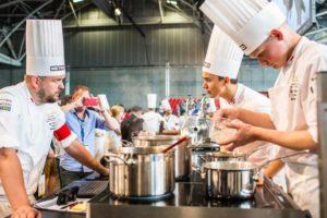 Foto's: Gerechten Nederlandse team op de Europese finale Bocuse d'Or