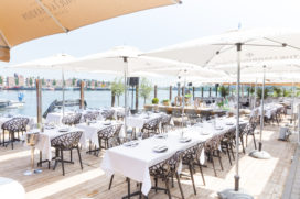 Terras Top 100 2018 nr.92: The Harbour Club Amsterdam Oost, Amsterdam