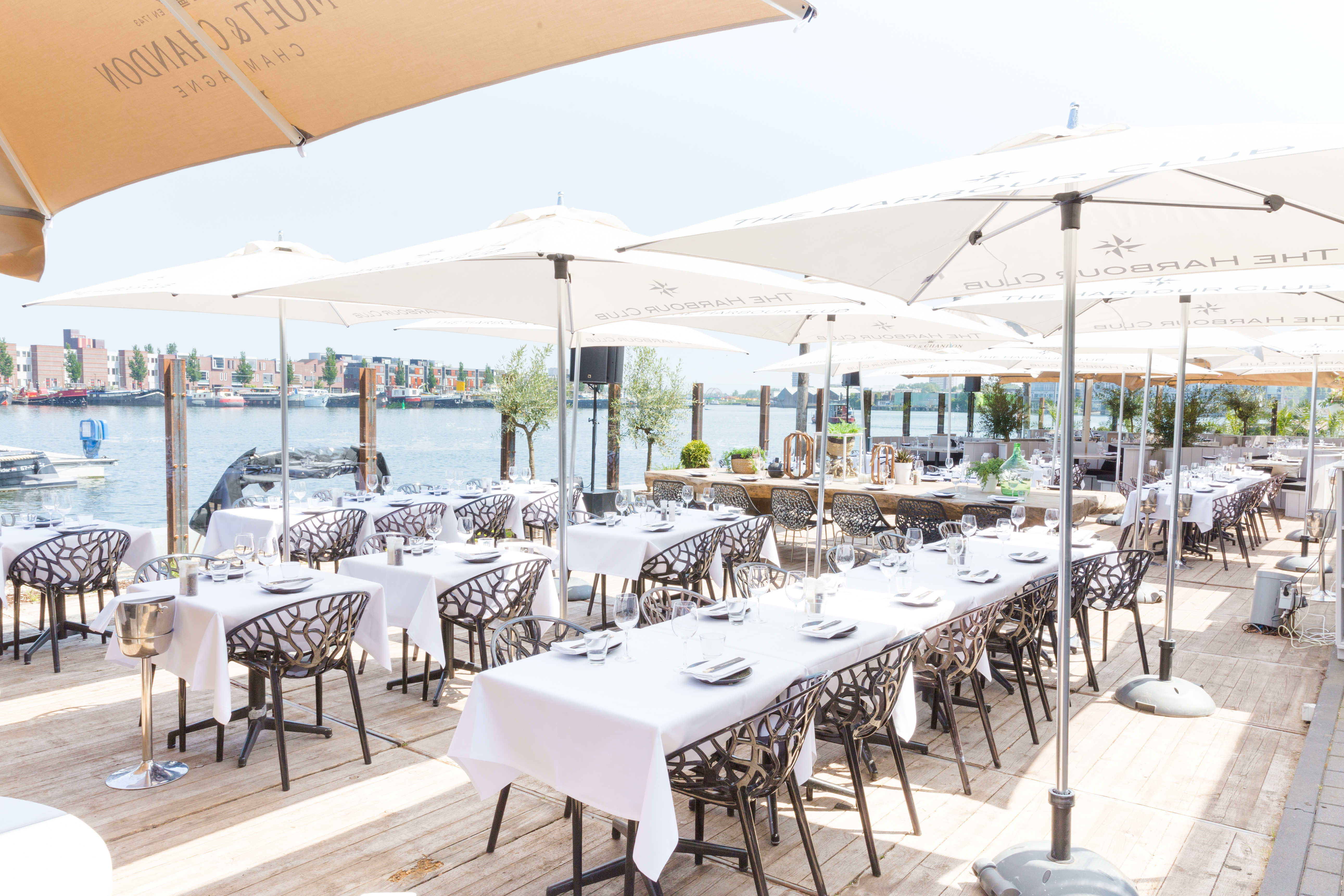 Terras Top 100 2018 nummer 92: The Harbour Club in Amsterdam