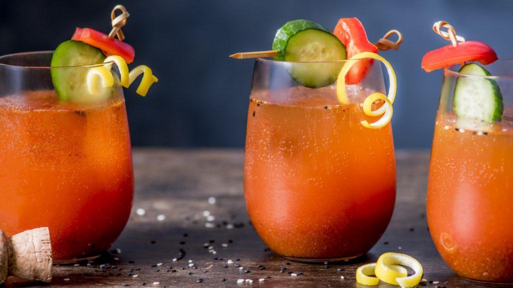 gepeperde Bloody Mary