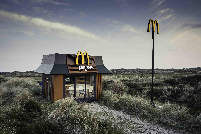 mcdonald s plaatst 39 kleinste restaurant van nederland 39. Black Bedroom Furniture Sets. Home Design Ideas