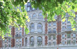 Grote brand in Mandarin Oriental Hotel Londen