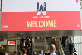 Impressie dag één World of Coffee Amsterdam