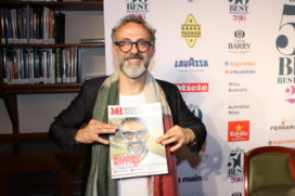 Massimo Bottura opnieuw op 1 in World's 50 Best Restaurants