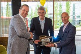 Novotel Schiphol ontvangt Dutch Hotel Award 2018 uit handen jury
