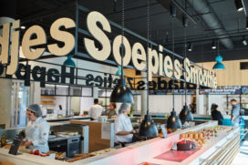 Foto's vernieuwd restaurant Friesland College