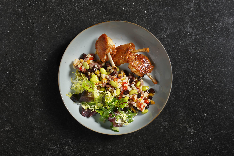 salades in de catering