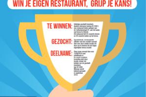 Bedenk een restaurantconcept en win de goodwill inventaris
