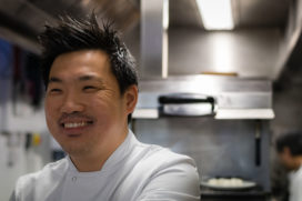 Sterchef Andrew Wong opent restaurant Kym's in Londens The Bloomberg Arcade