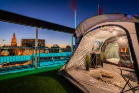 'Urban camping' op dak van City Hotel Groningen