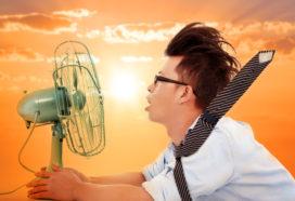 Tips: werken in de horeca bij hoge temperaturen