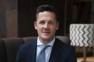 Jeroen Schagen nieuwe f&b-manager Hilton Rotterdam