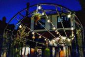 Horecainterieur: Café Aimee 'botanische stijlelementen en fluwelen banken'