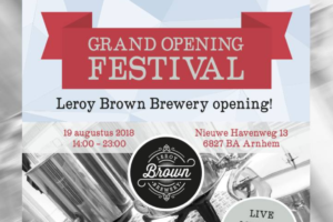 Leroy Brown Brewery: eigen bierbrouwerij voor Arnhem