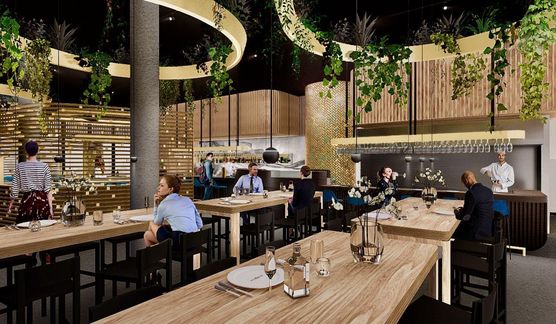 Nieuw restaurant za van italiaan in houthaven amsterdam for Nieuwe restaurants amsterdam