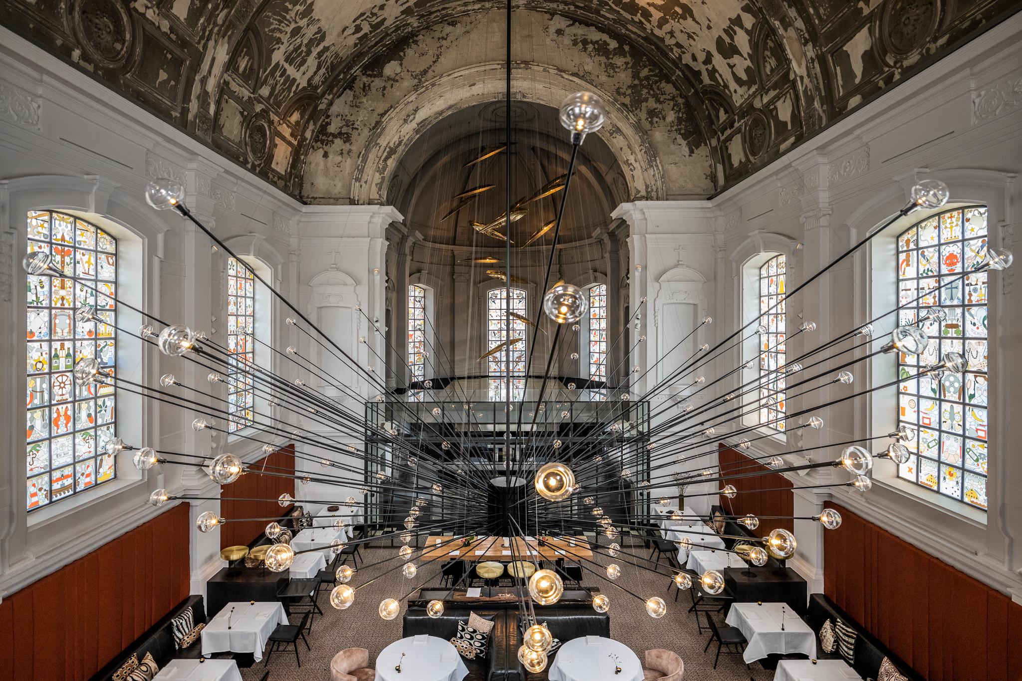 The Jane Antwerpen : Horecainterieur: restyling voor tweesterrenrestaurant the jane