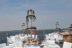 Foto's: Katseveer kookt op drijvend ponton in Oosterschelde