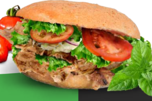 Wereldrecordpoging Vegan Döner Kebab eten